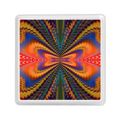 Casanova Abstract Art Colors Cool Druffix Flower Freaky Trippy Memory Card Reader (square)  by BangZart