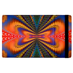 Casanova Abstract Art Colors Cool Druffix Flower Freaky Trippy Apple Ipad 2 Flip Case by BangZart