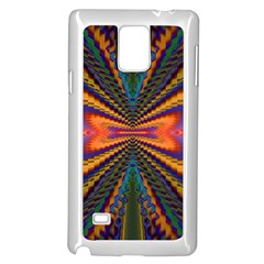 Casanova Abstract Art Colors Cool Druffix Flower Freaky Trippy Samsung Galaxy Note 4 Case (white) by BangZart