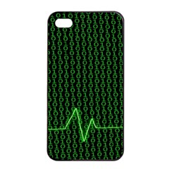 01 Numbers Apple Iphone 4/4s Seamless Case (black) by BangZart