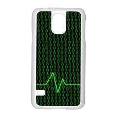 01 Numbers Samsung Galaxy S5 Case (white) by BangZart