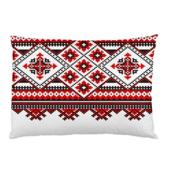Consecutive Knitting Patterns Vector Pillow Case by BangZart