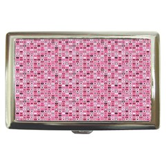 Abstract Pink Squares Cigarette Money Cases by BangZart