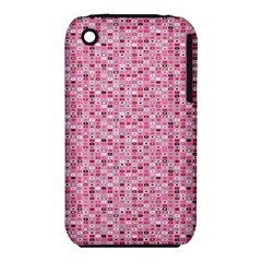 Abstract Pink Squares Iphone 3s/3gs by BangZart