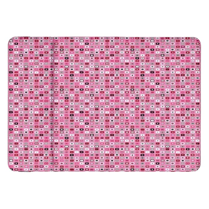 Abstract Pink Squares Samsung Galaxy Tab 8.9  P7300 Flip Case