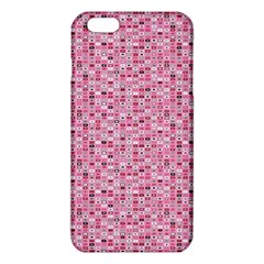 Abstract Pink Squares Iphone 6 Plus/6s Plus Tpu Case by BangZart