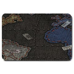 World Map Large Doormat  by BangZart