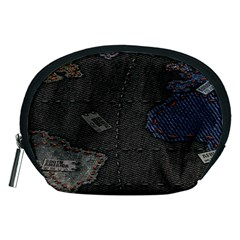 World Map Accessory Pouches (medium)  by BangZart