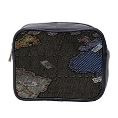 World Map Mini Toiletries Bag 2 Side by BangZart
