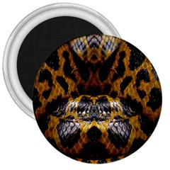 Textures Snake Skin Patterns 3  Magnets by BangZart
