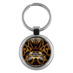 Textures Snake Skin Patterns Key Chains (round)  by BangZart