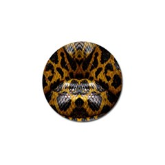 Textures Snake Skin Patterns Golf Ball Marker (10 Pack) by BangZart