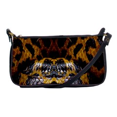 Textures Snake Skin Patterns Shoulder Clutch Bags by BangZart