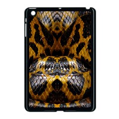 Textures Snake Skin Patterns Apple Ipad Mini Case (black) by BangZart