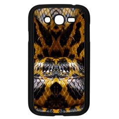 Textures Snake Skin Patterns Samsung Galaxy Grand Duos I9082 Case (black) by BangZart