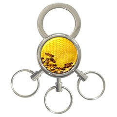 Sweden Honey 3 Ring Key Chains by BangZart