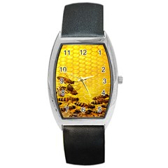 Sweden Honey Barrel Style Metal Watch by BangZart