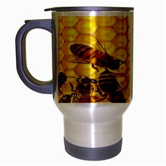 Sweden Honey Travel Mug (silver Gray) by BangZart