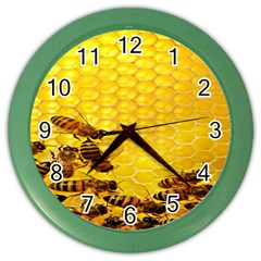 Sweden Honey Color Wall Clocks