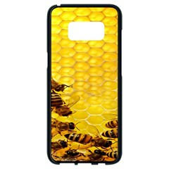 Sweden Honey Samsung Galaxy S8 Black Seamless Case by BangZart