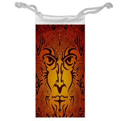 Lion Man Tribal Jewelry Bag