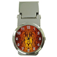 Lion Man Tribal Money Clip Watches by BangZart