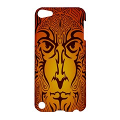 Lion Man Tribal Apple Ipod Touch 5 Hardshell Case by BangZart