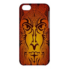 Lion Man Tribal Apple Iphone 5c Hardshell Case by BangZart