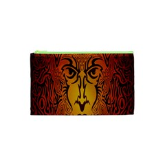 Lion Man Tribal Cosmetic Bag (xs) by BangZart