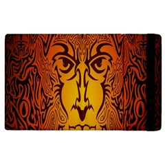 Lion Man Tribal Apple Ipad Pro 9 7   Flip Case by BangZart