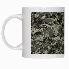 Us Army Digital Camouflage Pattern White Mugs by BangZart