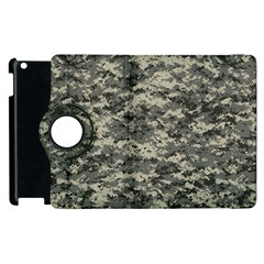 Us Army Digital Camouflage Pattern Apple Ipad 3/4 Flip 360 Case by BangZart