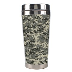 Us Army Digital Camouflage Pattern Stainless Steel Travel Tumblers by BangZart