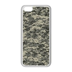 Us Army Digital Camouflage Pattern Apple Iphone 5c Seamless Case (white) by BangZart