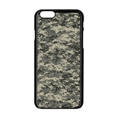 Us Army Digital Camouflage Pattern Apple Iphone 6/6s Black Enamel Case by BangZart