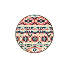 Aztec Pattern Copy Hat Clip Ball Marker (4 Pack) by BangZart