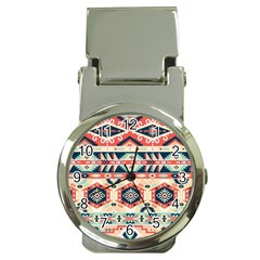 Aztec Pattern Copy Money Clip Watches by BangZart