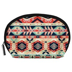 Aztec Pattern Copy Accessory Pouches (large)  by BangZart