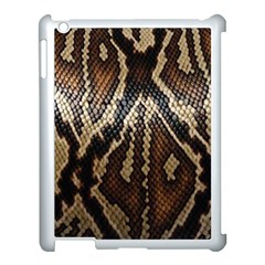 Snake Skin O Lay Apple Ipad 3/4 Case (white) by BangZart
