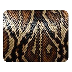 Snake Skin O Lay Double Sided Flano Blanket (large)  by BangZart