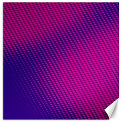 Purple Pink Dots Canvas 20  X 20   by BangZart
