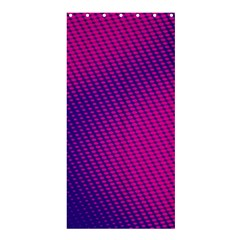 Purple Pink Dots Shower Curtain 36  X 72  (stall)  by BangZart