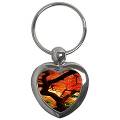 Maple Tree Nice Key Chains (heart)  by BangZart