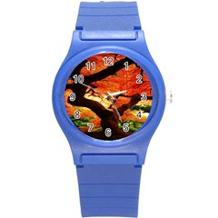 Maple Tree Nice Round Plastic Sport Watch (s) by BangZart