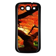 Maple Tree Nice Samsung Galaxy S3 Back Case (black) by BangZart