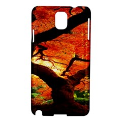 Maple Tree Nice Samsung Galaxy Note 3 N9005 Hardshell Case by BangZart