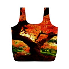 Maple Tree Nice Full Print Recycle Bags (m)