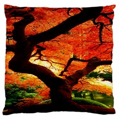 Maple Tree Nice Standard Flano Cushion Case (two Sides) by BangZart