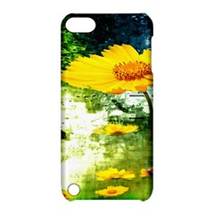 Yellow Flowers Apple Ipod Touch 5 Hardshell Case With Stand by BangZart