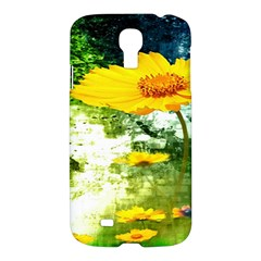 Yellow Flowers Samsung Galaxy S4 I9500/i9505 Hardshell Case by BangZart